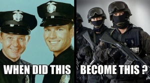 "From ""Protect & Serve"" to ""Control & Suppress""!"