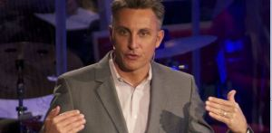 Pastor Tchividjian ~ The PC Cat has his tongue!