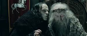 Wormtongue (Obama) has the King's (American People) ear!